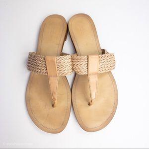 Blue Saks Fifth Avenue Sandals Nude
